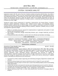 application analyst resume - Systems Analyst Resume