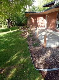 house outdoor lighting ideas design ideas fancy. Incredible Garden Design With Various Lawn Edging : Fascinating Landscaping Decoration Using Dark Brown Brick House Outdoor Lighting Ideas Fancy