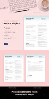 What To Put On Modern Resume Flight Attendant Resume Template This Resume Is The Super