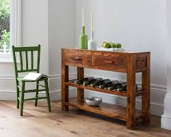 Wine Rack Console Table Set Console Table Wine Rack Console