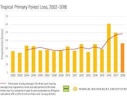 These Charts Show Just How Much Forest Were Losing Every