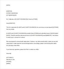sample Demand Letter for Collection Template Word Editable