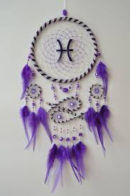 Zodiac Dream Catcher Magnificent Zodiac Dream Catcher Pisces Sign Dreamcatcher Large Wall Hanging