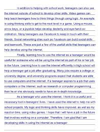 essay about useful of internet a for and against essay about the internet learnenglish teens