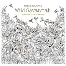 Small Picture Wild Savannah Adult Coloring Book A Coloring Book Adventure by