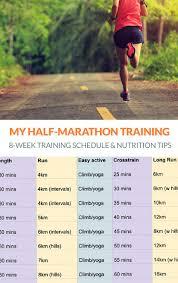 half marathon training nutrition