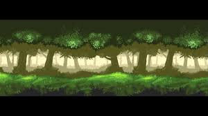 Day Light Forest Background