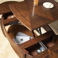 Woodboro Lift Top Coffee Table Hammary Concierge Oval Lift Top Coffee Table Coffee Tables At