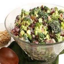 """Résultat de recherche d'images pour """"salade crémeuse de brocolis"""""""