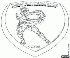 Kleurplaten Emblemen Van De Griekse Voetbalcompetitie Superleague