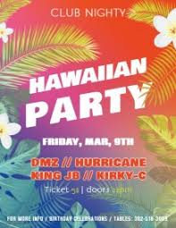 Luau Flyer 16 930 Customizable Design Templates For Luau Party Postermywall