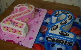 Twins Birthday Cakes Cakecentralcom