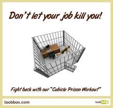 cubicle prison workout