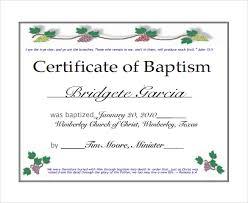 Baptism Certificate Baptism Certificate Format Rome Fontanacountryinn Com