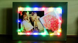 Photo Frame Light Design Diy Led Frame Learn How To Make A Fairy Light Frame For Special Display Ezycraft
