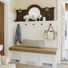 Coat Rack Bench With Mirror Classy Foyer Benches With Coat Racks Ungrounded