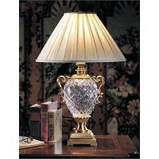 crystal table lamp vintage antique crystal table lamps photo 3 vintage crystal chandelier table lamp