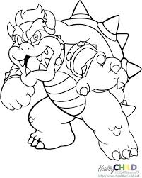 Coloring Pages Super Mario Brothers Printable Coloring Brothers