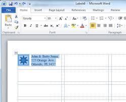 Best Photos Of Microsoft Word Label Templates Create