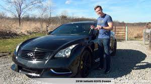 Review: 2010 Infiniti G37S Coupe - YouTube