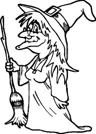 Halloween Witch Coloring Pages Plus Witches Coloring Pages Printable