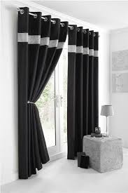 new diamante faux silk lined curtains black silver