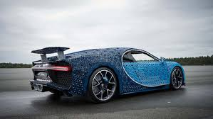 It looks like the real thing. Life Size Lego Technic Bugatti Chiron Really Drives Autoblog