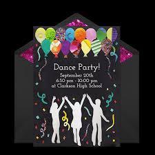 Free 13th Birthday Invitations 13th Birthday Dance Party Invitations Free Dance Party