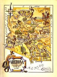 15 best maps images on pinterest Travel Map Of Arizona arizona map flickr travel map of arizona and utah
