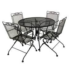 black wrought iron patio furniture. Amazing Of Black Wrought Iron Patio Furniture With Dining Room Table N