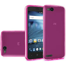 ZTE Avid 4G Case, by Insten TPU Rubber ...
