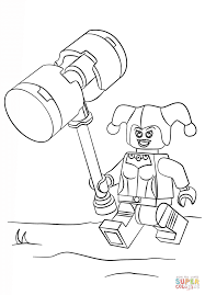 harley quinn coloring pages 441864