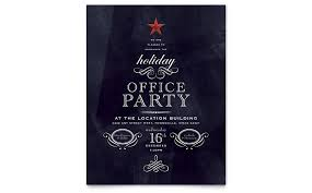 Holiday Flyer Template Word Office Holiday Party Flyer Template Word Publisher