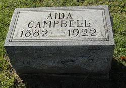 """Florence Aida """"Aida"""" Kirk Campbell (1882-1922) - Find A Grave Memorial"""