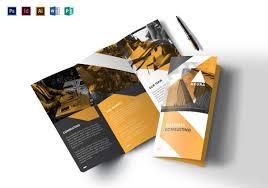 Trifold Brochure Examples Tri Fold Brochure Templates 56 Free Psd Ai