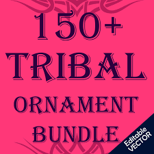 Tribal Tattoo Set Vector Stock Vector Decorative Design Elements