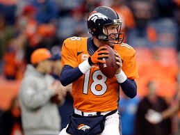 peyton manning broncos. DENVER, CO - JANUARY 11: Peyton Manning #18 Of The Denver Broncos Warms Up  Prior To A 2015 AFC Divisional Playoff Game Against Indianapolis Colts At Peyton Manning Broncos N