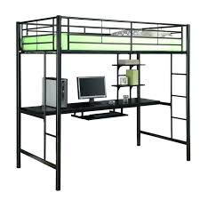 metal bunk bed with desk underneath. Full Bunk Bed With Desk Underneath Metal Loft  Bedroom . T