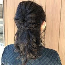 花冠が似合う髪型9選ウェディングカラードレス花嫁ハクレイ Belcy