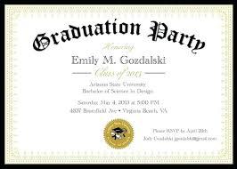 Invitation Layout Free Graduation Invitation Layout College Announcements Templates