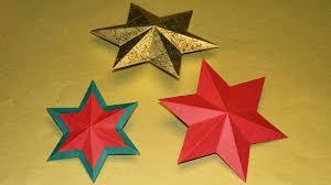 Basteln Und Mehr 3 D Sterne Basteln Zu Weihnachten Als