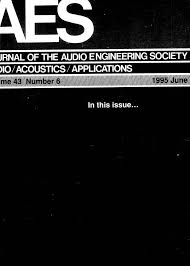 AES E-Library » Complete Journal: Volume 43 Issue 6