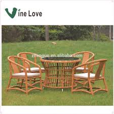 High quality rattan furniture roots rattan outdoor