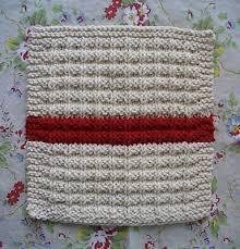 Knit Dishcloth Pattern Cool Homespun Living Waffle Knit Dishcloth Pattern