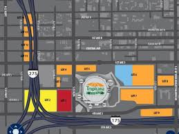 Rays Seating Chart With Rows Tropicana Field Guide Where To Park Eat And Get Cheap