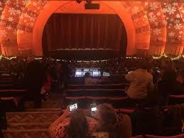 Radio City Music Hall Section 2nd Mezzanine 4