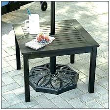 patio table with umbrella hole small round outdoor table small outdoor table with umbrella hole patio