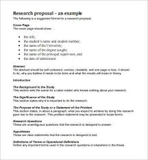 Research Problem Statement Examples How To Write A Research Proposal Examples Optoin