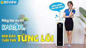 Máy lọc nước RO Hydrogen Karofi: có màn hình báo tuổi thọ lõi lọc (M-I129/H  9 lõi) • Điện máy XANH - YouTube