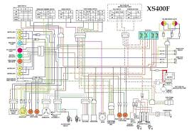 xs400f wiring diagram xs400 explore cafe racer motorcycle and more xs400f wiring diagram
